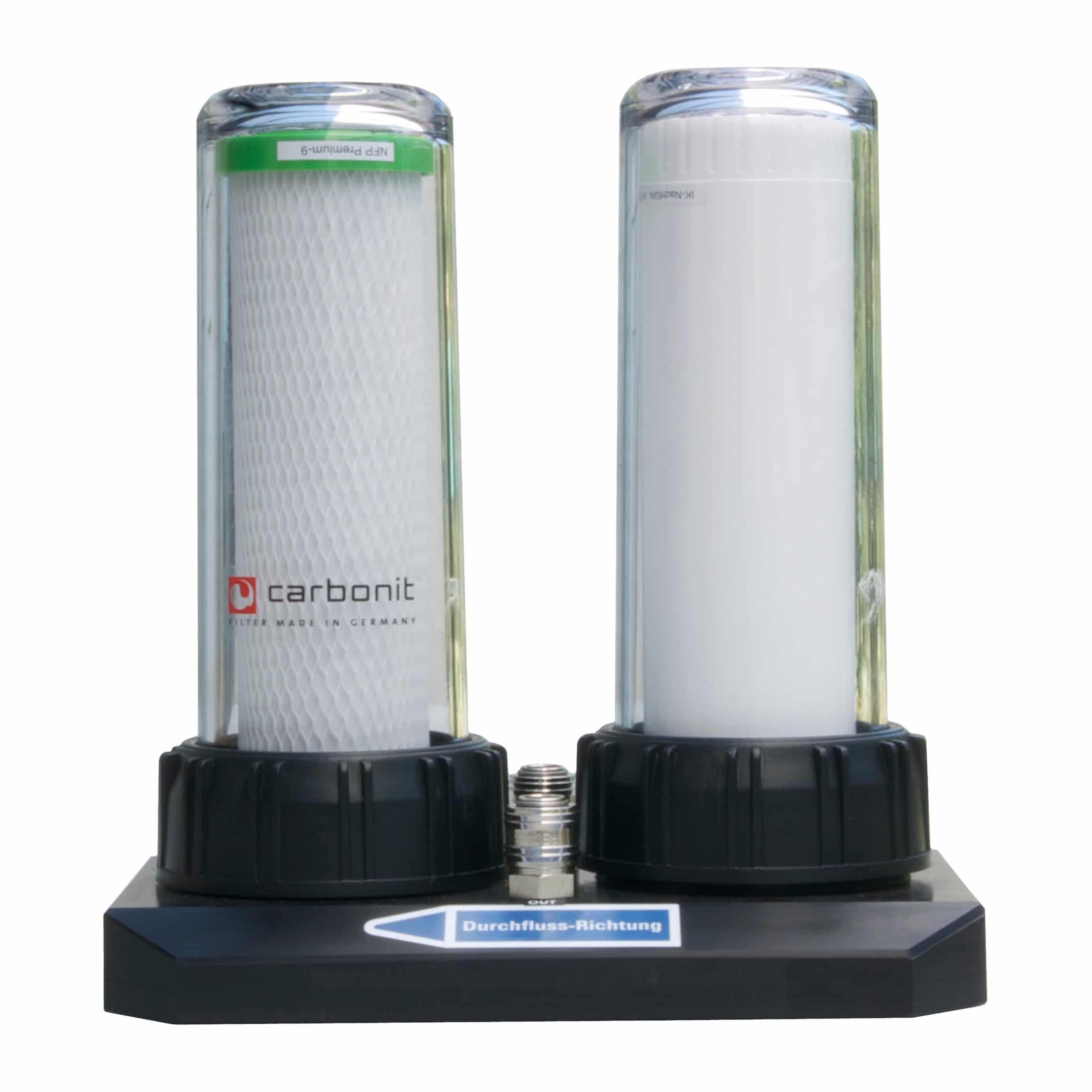DUO HP Série de Carbonit pour des cartouches placées en série