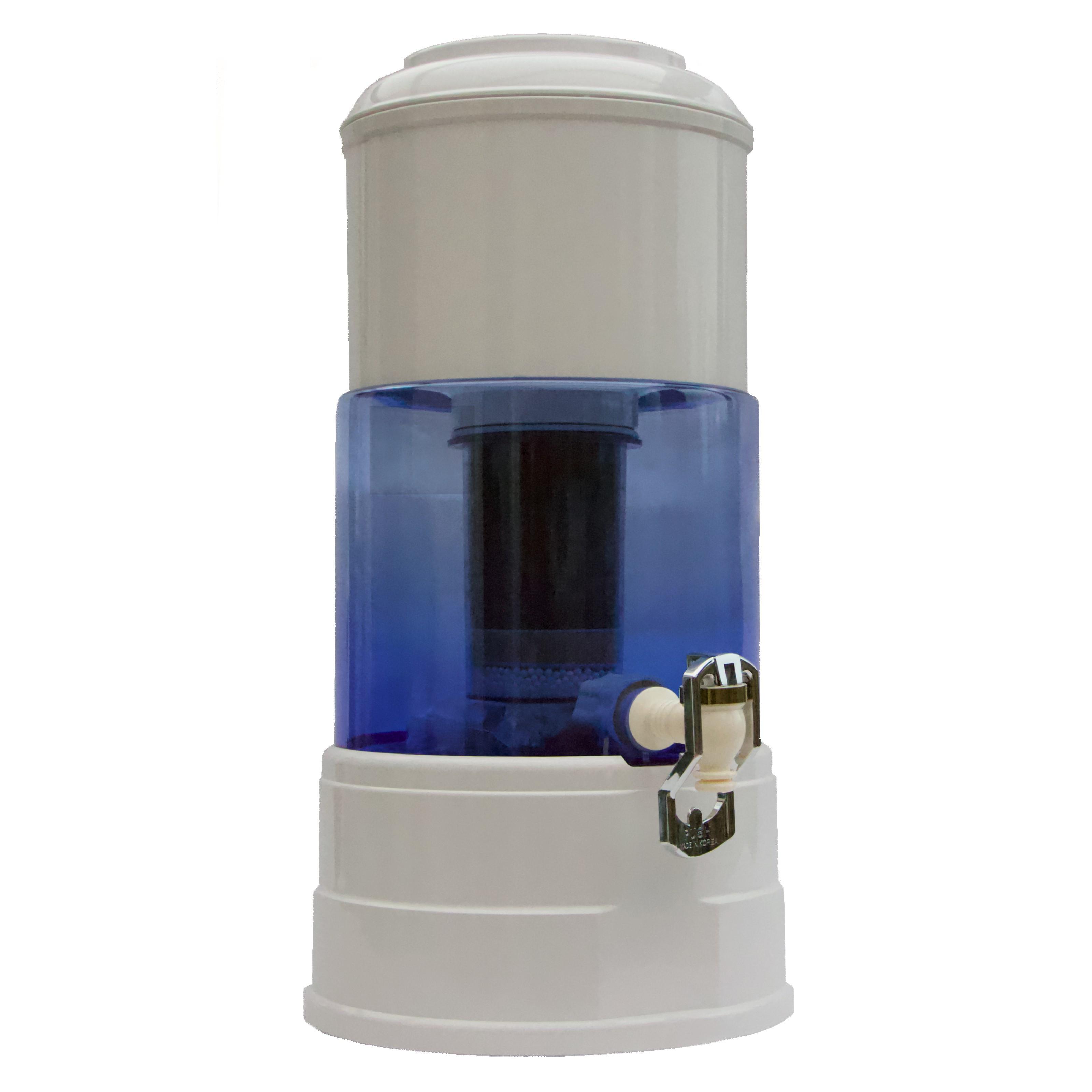 Fontaine Aqualine en verre - distributeur d'eau filtrée