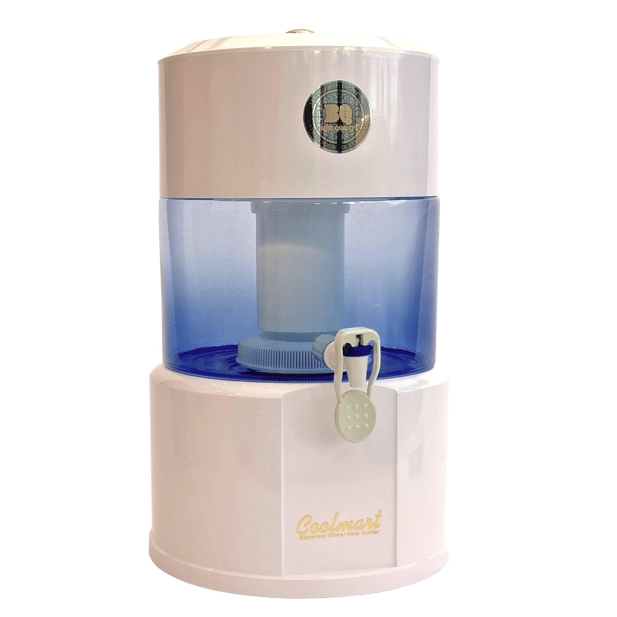 Fontaine d'eau COOLMART CM-101 bocal verre 12L filtre de la marque Doonam