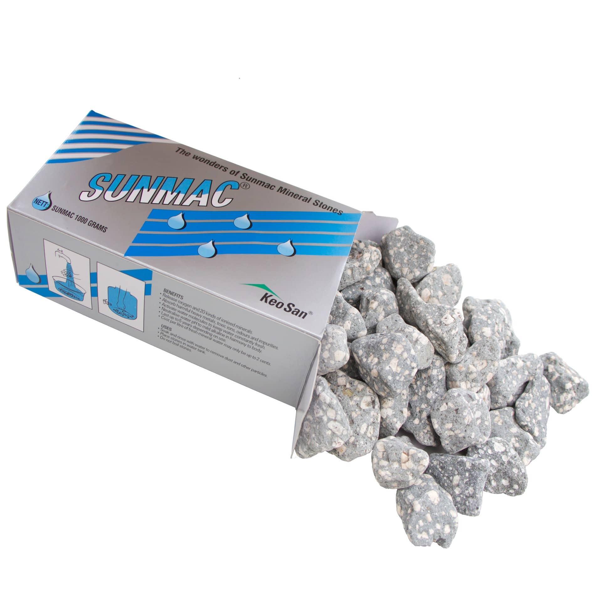 Pierres minéralisantes SUNMAC pour fontaine Keosan