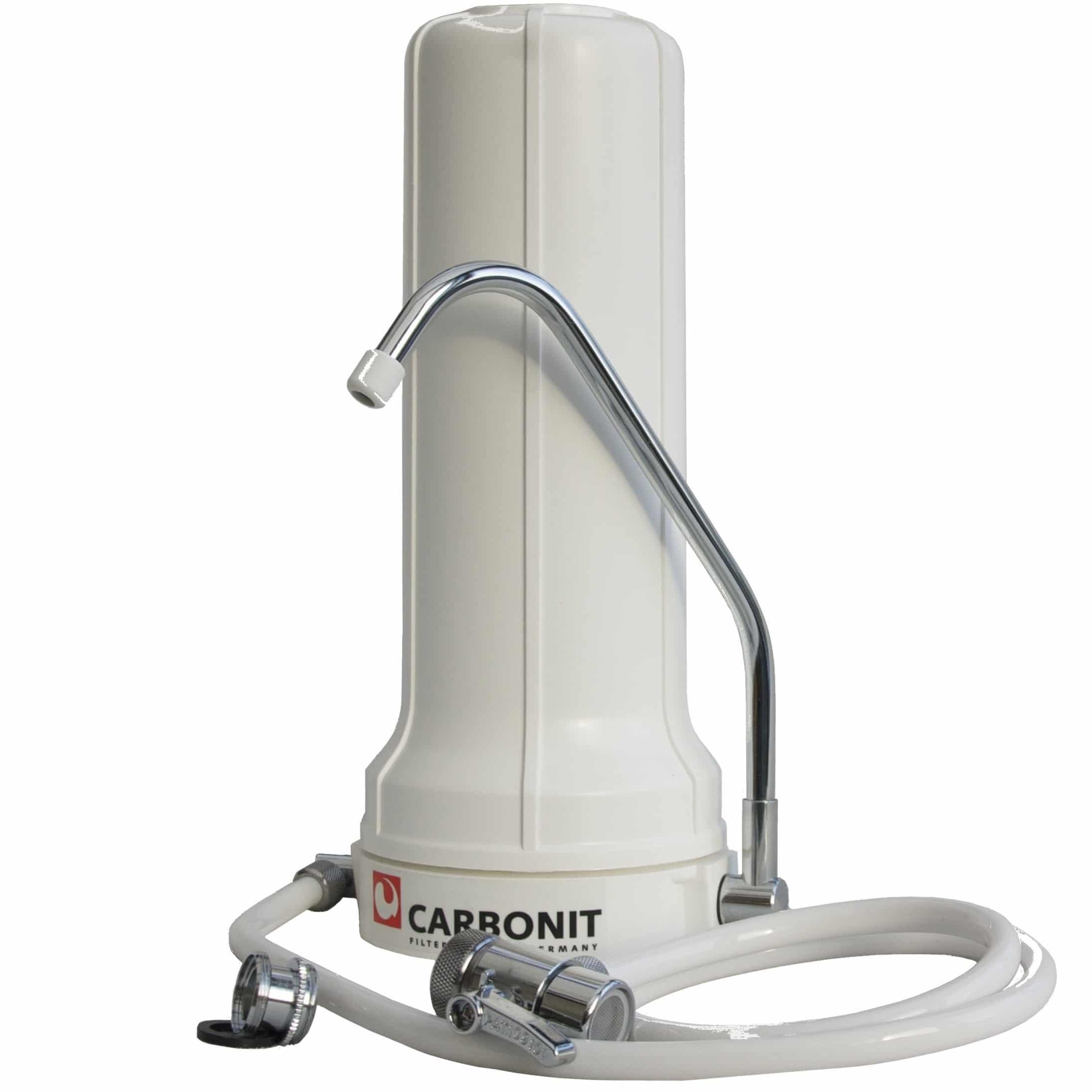 SANUNO de Carbonit® le filtre relié en un clin d'œil à votre robinet